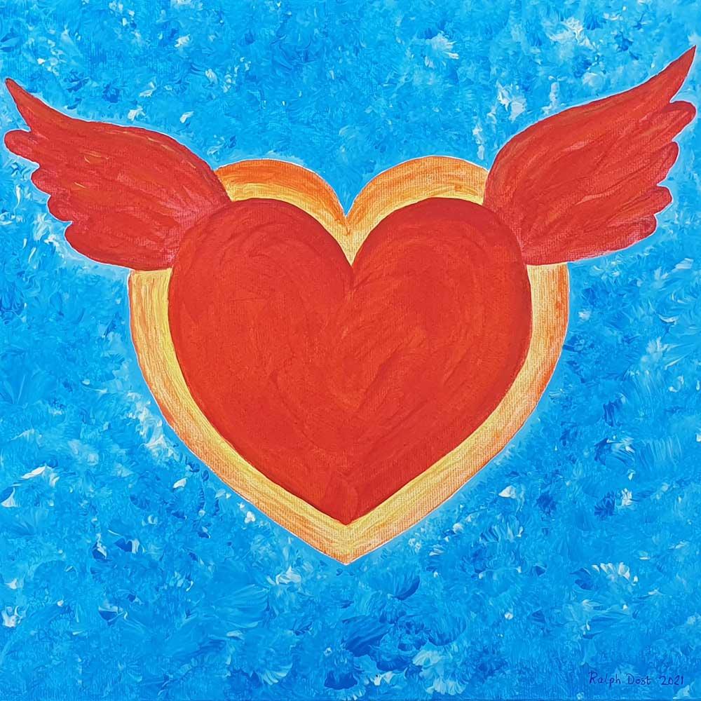Flying Heart